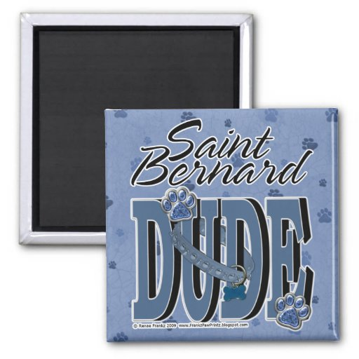 TIPO de St Bernard Imán Para Frigorífico
