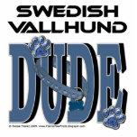 TIPO de Vallhund del sueco Escultura Fotografica