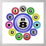 Tipo del bingo B8 Posters