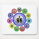 Tipo del bingo I69 Tapete De Raton