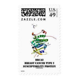 Tipo del cáncer de pecho BRCA2 - proteína de la Sellos