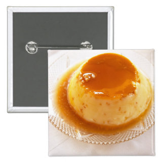 Tipo del caramelo de nata de pudín con caramelo pin cuadrado