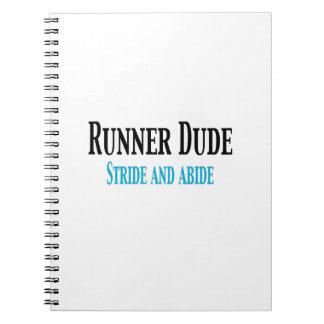 Tipo del corredor:  Ande a trancos y respete Cuaderno