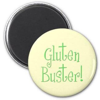 Tipo del gluten imán de frigorífico