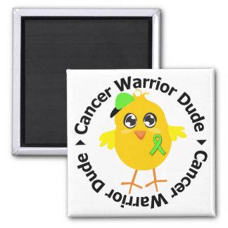 Tipo del guerrero del cáncer del linfoma imán de nevera