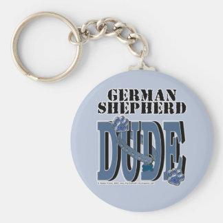 TIPO del pastor alemán Llavero Personalizado