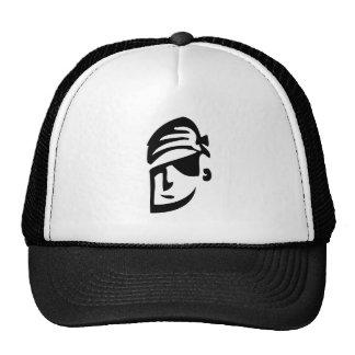Tipo del pirata gorras de camionero