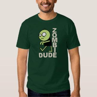 Tipo del zombi camisas