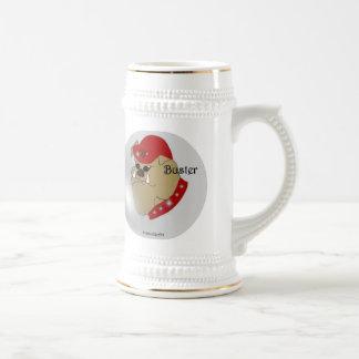 Tipo el dogo taza de café