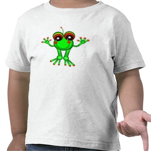 Tipo extranjero camisetas