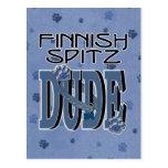 TIPO finlandés del perro de Pomerania Tarjetas Postales