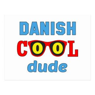 Tipo fresco danés postales