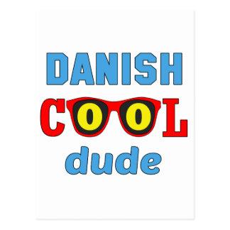 Tipo fresco danés tarjeta postal