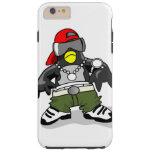 Tipo fresco del pingüino funda resistente iPhone 6 plus
