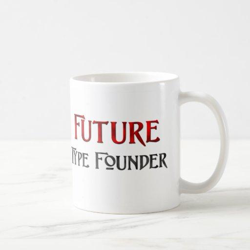Tipo fundador futuro taza básica blanca