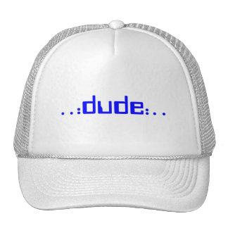 .: tipo:. gorra (del azul)