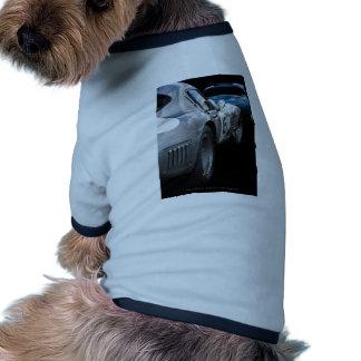 Tipo jaguares del vintage E Camiseta Con Mangas Para Perro