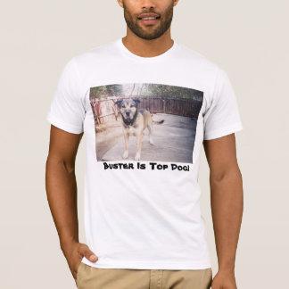 Tipo la camisa del perro superior
