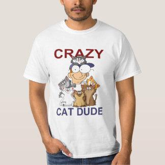 Tipo loco del gato poleras