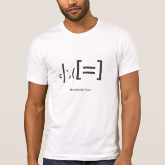 """tipo malhumorado"" camiseta playeras"
