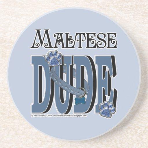 TIPO maltés Posavasos Diseño