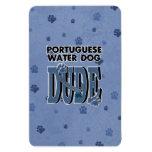 TIPO portugués del perro de agua Iman De Vinilo