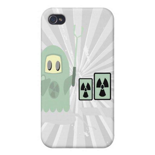 tipo radiactivo iPhone 4/4S funda