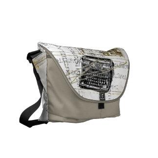 Tipo retro la bolsa de mensajero del vintage enrro bolsas de mensajería