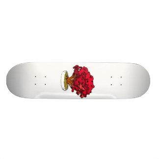 """Tipo rojo gráfico de la vela de los bonsais del gr patineta 7 7/8"""""""