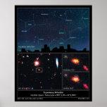 Tipo supernova Mikulski del espacio profundo de II Impresiones