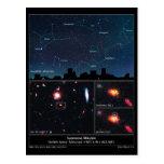 Tipo supernova Mikulski del espacio profundo de II Tarjetas Postales