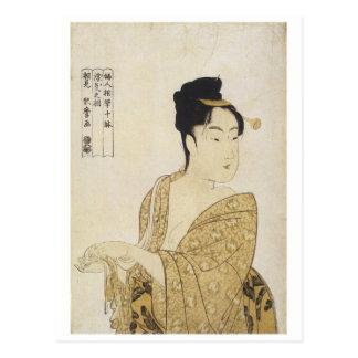 Tipo voluble de Utamaro impresiones 1792 del arte Postales