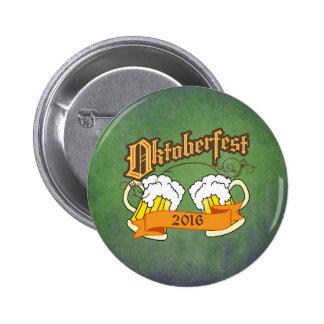 Tipografía alemana de los Steins de la cerveza del Pin Redondo De 2 Pulgadas
