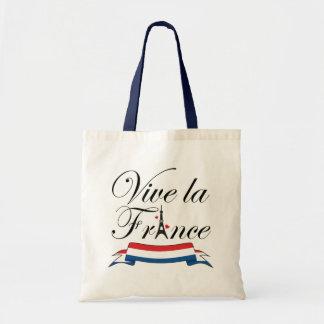 Tipografía de Francia del la de Vive Bolsa Tela Barata