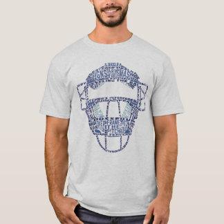 Tipografía de la máscara de los colectores del playera