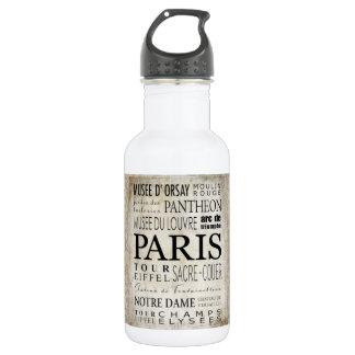Tipografía de París - estilo del subterráneo