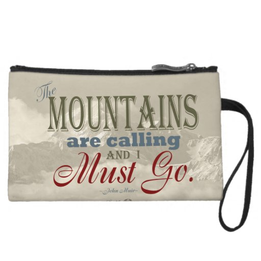 Tipografía del vintage que las montañas están