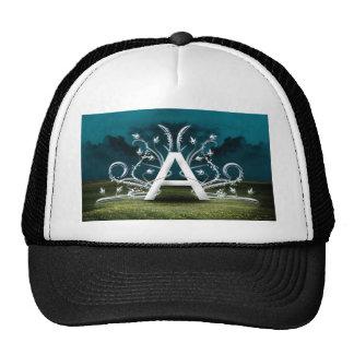 Tipografía elegante gorras