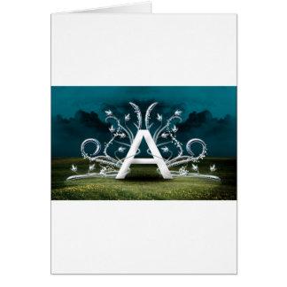 Tipografía elegante tarjeta de felicitación