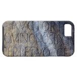 Tipografía romana en el foro, Roma, Italia Funda Para iPhone SE/5/5s