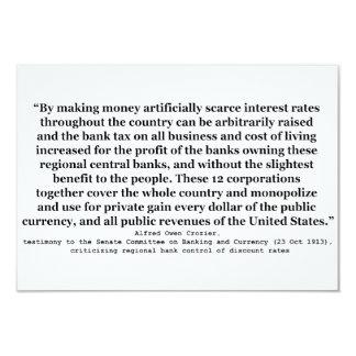 Tipos de interés de Federal Reserve del báculo Comunicado Personalizado