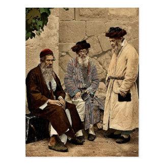 Tipos de judíos en Jerusalén, Tierra Santa Photoch Postales