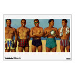 tipos de la playa de los años 50