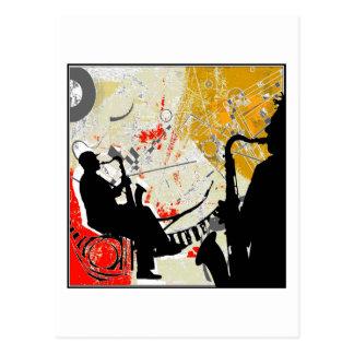 Tipos del jazz postales