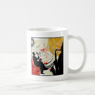 Tipos del jazz taza de café