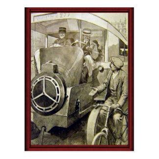 Tipos del vintage de transporte postales