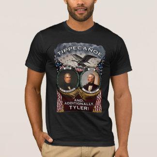Tippecanoe 1840 Election Men's Dark Shirt