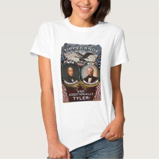 Tippecanoe 1840 Election Women's Light Shirt