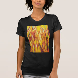 Tipped Flames (abstract expressionism) T Shirt