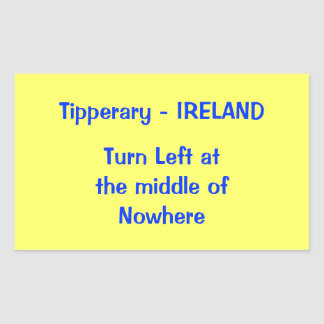 Tipperary-Ireland Stickers